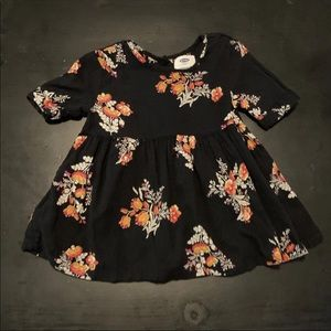 Floral old navy dress